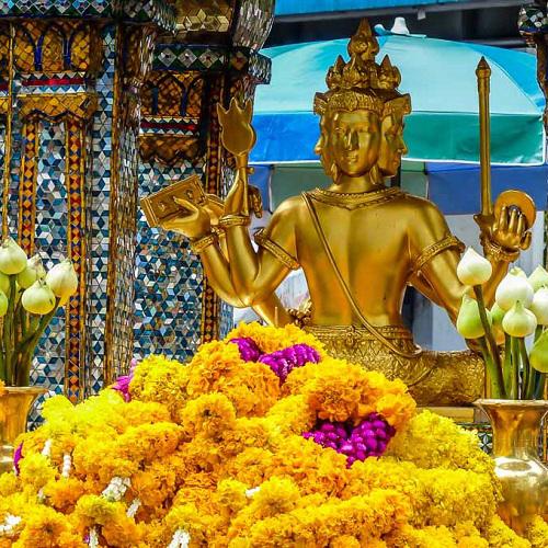 參拜曼谷四面佛The Erawan Shrine實現你的心願